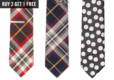 Shop Ties: Pops of Plaid & Stripes