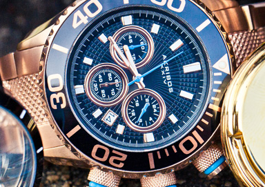 Shop Make Moves: Bold Watches by Akribos