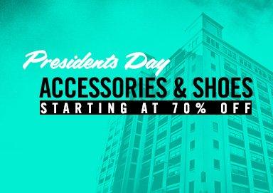 Shop Prez Day Deals: 70% Off Shoes & More