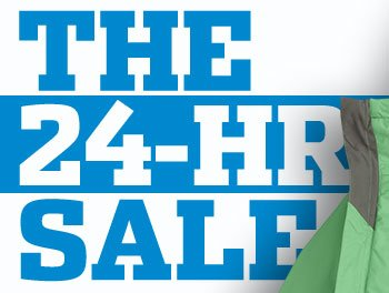 THE 24-HR SALE