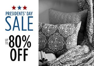 Up to 80% Off Bedding, Curtains & More