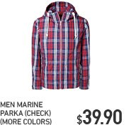 MEN MARINE PARKA