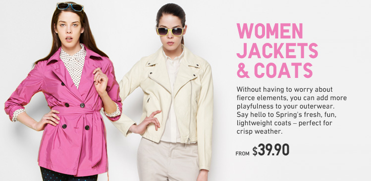 WOMEN JACKETS & COATS