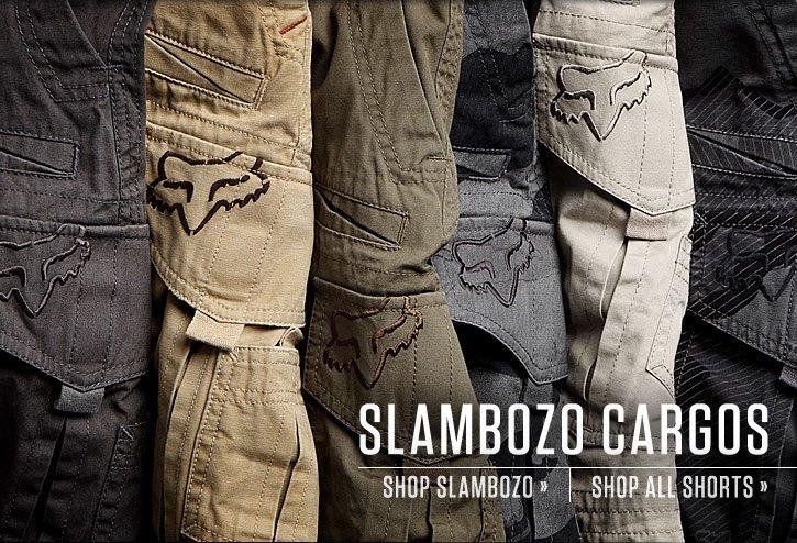 Slambozo Cargo Shorts