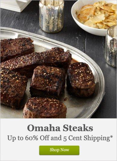 Omaha Steaks - Shop Now