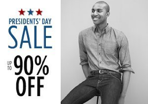 Up to 90% Off Shirts, Pants & More
