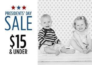 $15 & Under:  Baby Tees, Pants & More