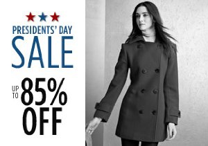 Up to 85% Off Coats, Jackets & More