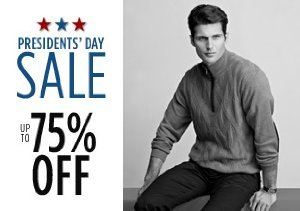 Up to 75% Off Shirts, Pants & More
