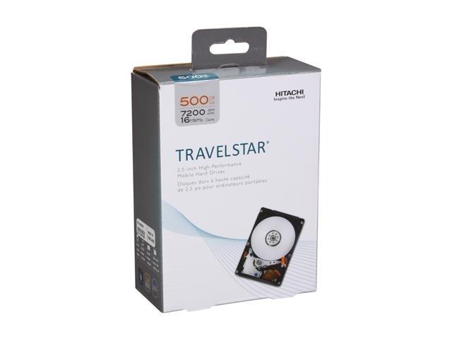 HGST Travelstar H2IK5001672SP (0S02858) 500GB 7200 RPM 2.5 inch SATA 3.0Gb/s Internal Notebook Hard Drive