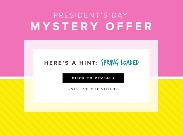 Mystery Offer: Reveal Your Surprise Discount - Surprise Me