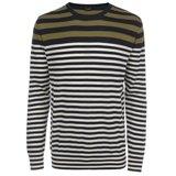 Paul Smith Knitwear - Khaki Breton Stripe Jumper