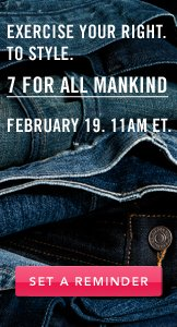 7 For All Mankind. Set A Reminder.