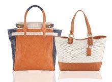 Suddenly Everywhere Neutral Colorblocked Handbags