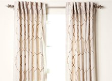 The Well-Dressed Window Curtains, Rods, & More