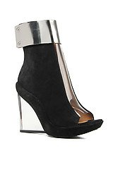 The Roni Shoe in Black with Metal Cuff