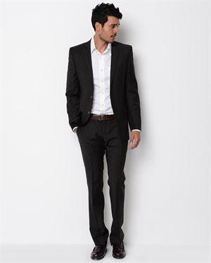 D&G Pinstripe Wool Suit