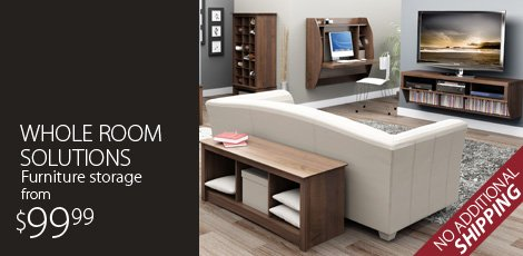 Whole Room Solutions: Furniture Storage