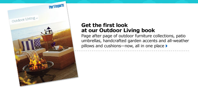 Get the first look at our Outdoor Living book