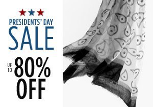 Up to 80% Off Scarves