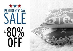 Up to 80% Off Throws, Pillows & More