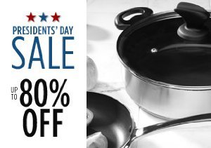 Up to 80% Off Pans, Dishes & More