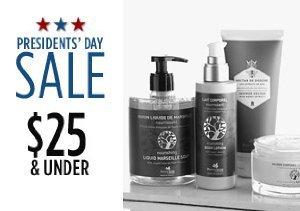 $25 & Under: Luxury Bath and Body