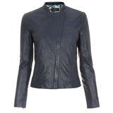 Paul Smith Jackets - Indigo Fitted Leather Jacket