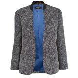 Paul Smith Jackets - Navy Summer Bouclé Buttonless Jacket