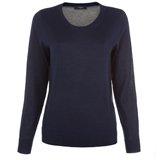 Paul Smith Knitwear - Navy Contrast Back Jumper