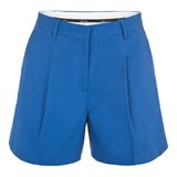 Paul Smith Shorts - Blue Pleated Front Shorts