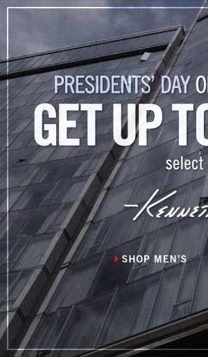PRESIDENTS' DAY ONLINE OUTLET SALE GET UP TO 60% SELECT STYLES OFF // SHOP MEN'S