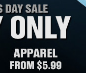 APPAREL FROM $5.99