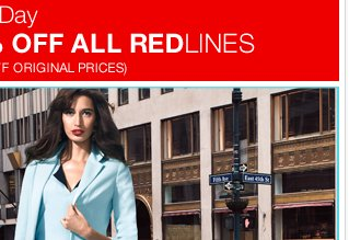 Take an extra 40% off all Redlines