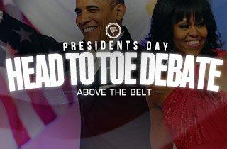Head To Toe Debate: Above The Belt
