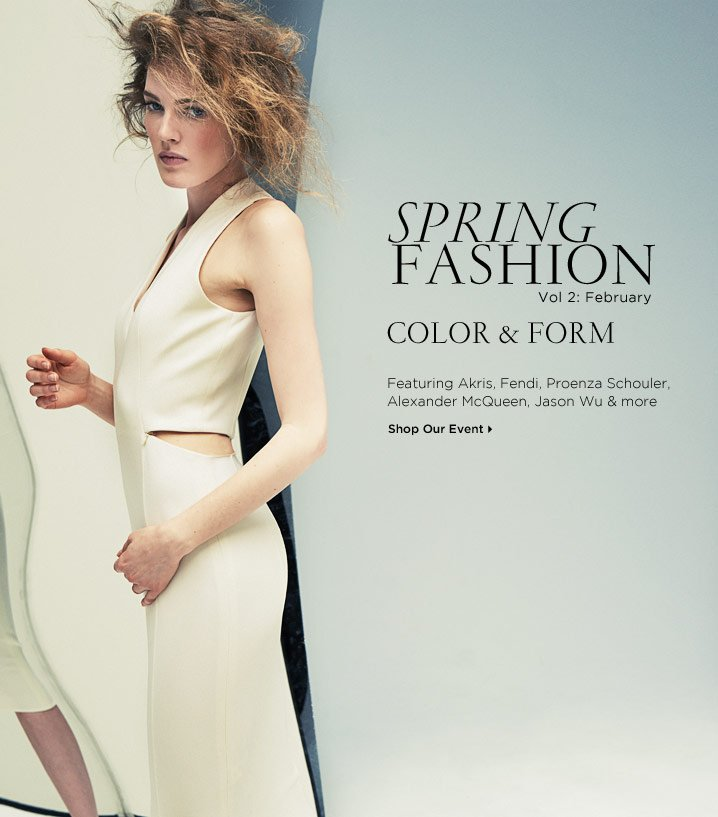 Shop Our Spring Fashion Event