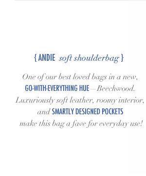 Andie Soft Shoulderbag