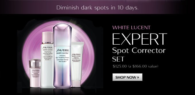 White Lucent Expert Spot Corrector Set