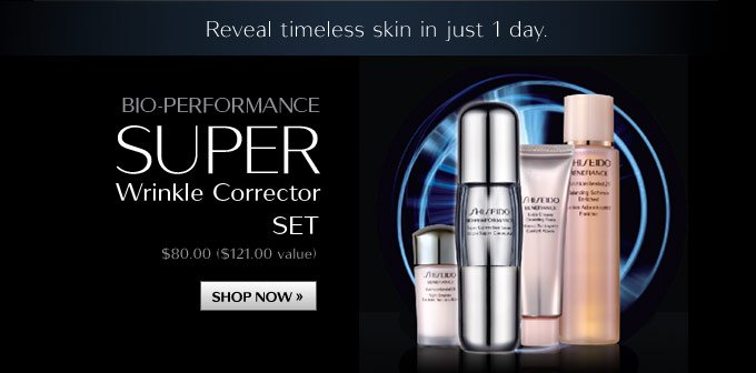 Bio-Performance Super Wrinkle Corrector Set