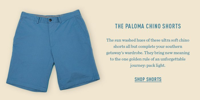 The Paloma Chino Shorts