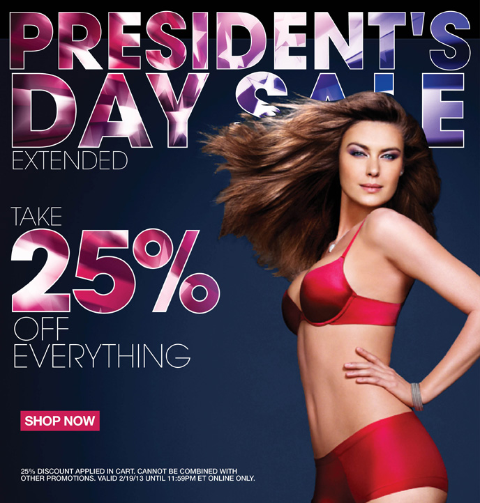 President's Day Sale Extended: Take 25% Off Everything