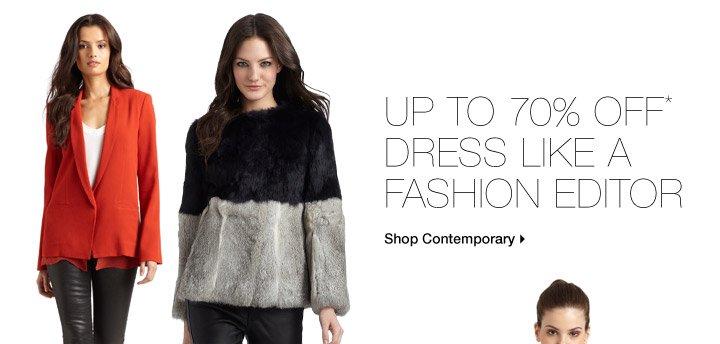 Up To 70% Off* Dress Like A Fashion Editor