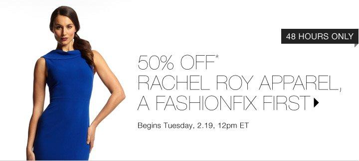 50% Off* Rachel Roy...Shop Now