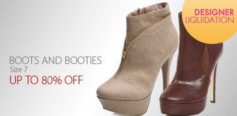 Liquidation Boots & Booties - Size 7-7H