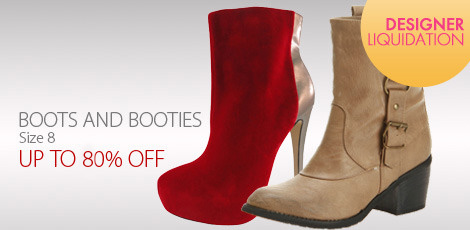 Liquidation Boots & Booties - Size 8-8H