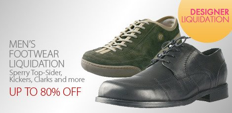 Men's Footwear Liquidation