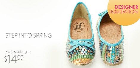Step into Spring