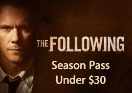 The Following - Season Pass Under $30