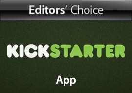 Editors' Choice: Kickstarter - App
