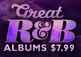 Great R&B Albums: $7.99